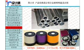 第六章 第1节:产品结构设计铝合金材料系能及应用(46分钟)