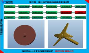 第二章 第8节 PROE果汁机马达传动齿及刀片结构设计教程