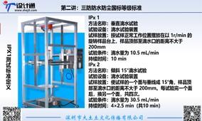 第二讲:三防产品防水标准等级及防水设备实验