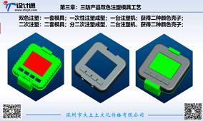 第四讲:三防产品二次注塑与双色注塑模具工艺