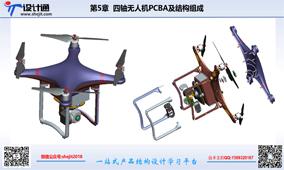 第五讲:四旋翼无人机结构设计组成