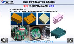 第一章 第2讲蓝牙音响结构设计基础-电子器件认识(2018年9月20更新)