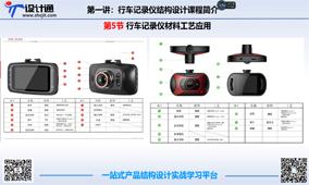第4节:行车记录仪结构设计材料工艺应用(2018年12月13日更新)