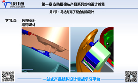 第五节:安防摄像头马达与壳子间隙结构设计