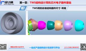 TWS耳机结构设计标准耳帽材料规格及细节设计(资料):第9节