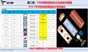 R10-TWS耳机模具制造加工资料输出-第21节
